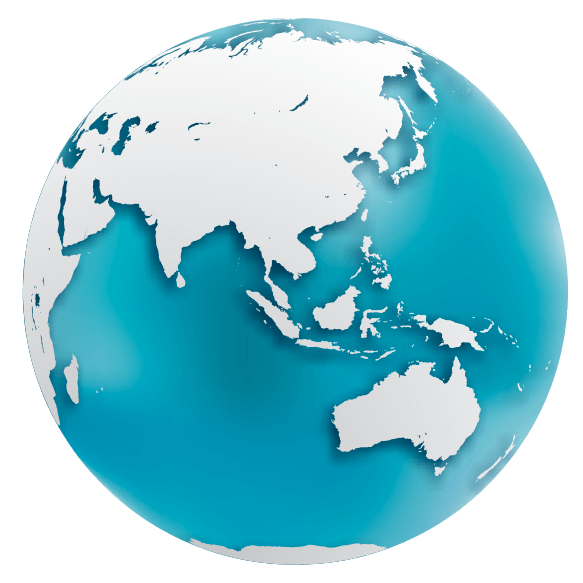 Globe terrestre face 2