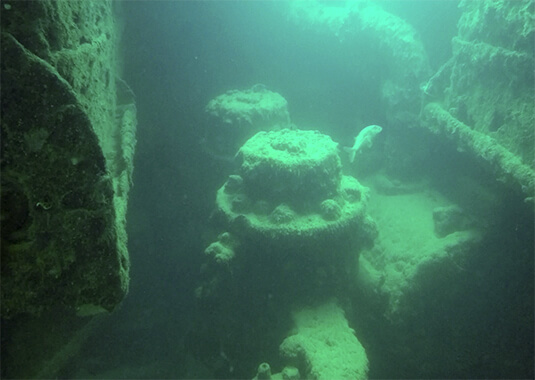 Malta-The historical wrecks of the WWII