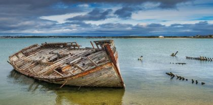 Les épaves historiques de la baie de St Malo